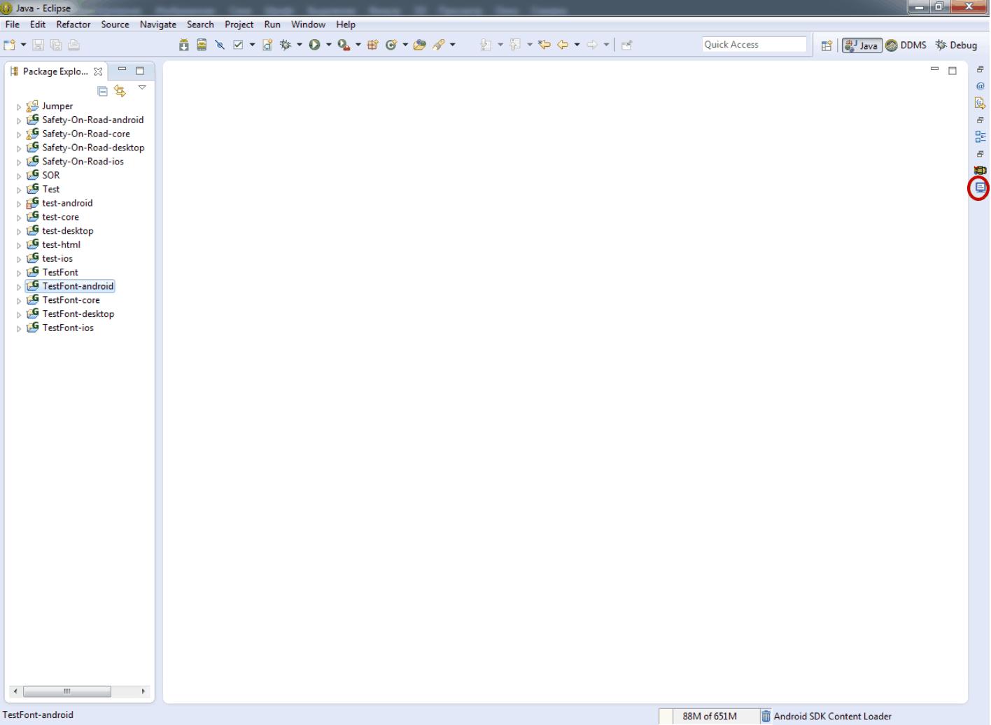 Шаг 11. Проверка результатов импорта LibGDX