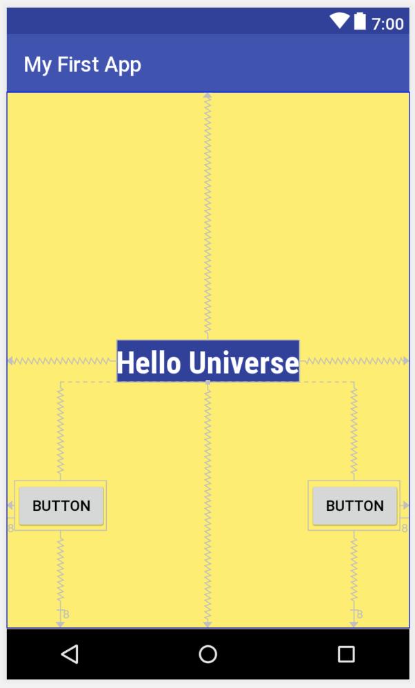 правая часть правой кнопки ограничена правой стороной экрана