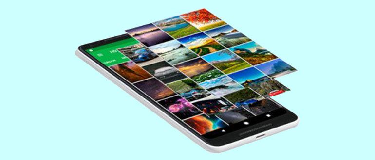 приложение HD Wallpapers с In-app Billing
