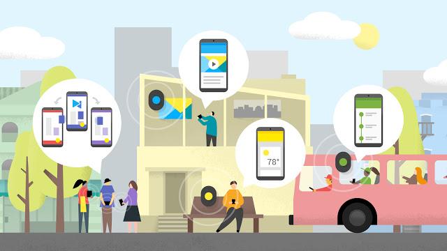 Освещая путь с помощью мобильных маяков BLE (Bluetooth low energy