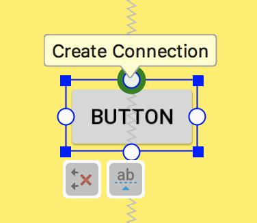 Добавьте ограничение на кнопку